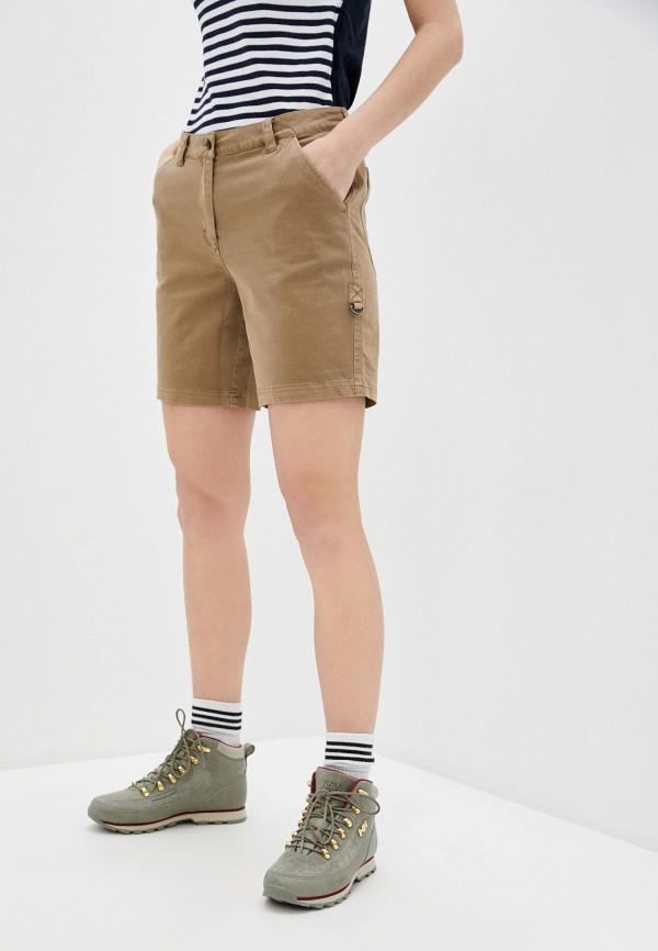 женские шорты icepeak, коричневые