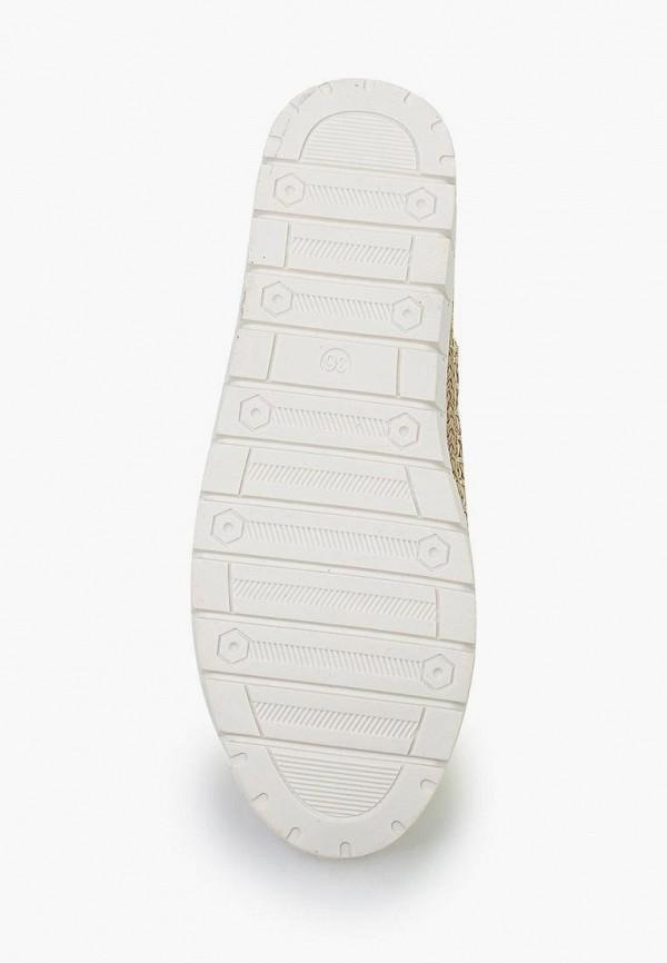 Фото 3 - Кеды Ideal Shoes желтого цвета