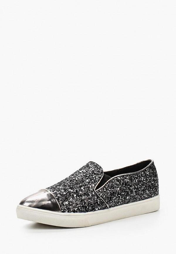 Купить Слипоны Ideal Shoes, id005awhml70, серебряный, Весна-лето 2016