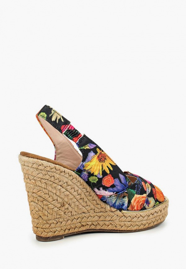 Фото 2 - Босоножки Ideal Shoes разноцветного цвета