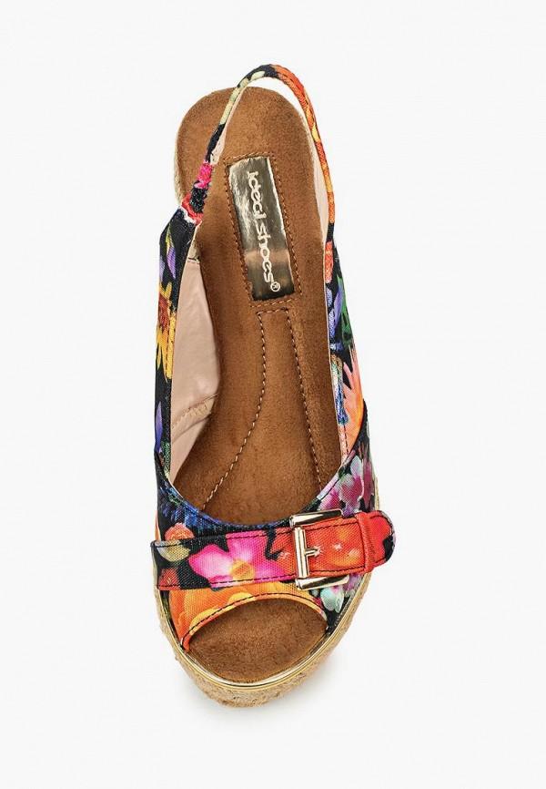 Фото 4 - Босоножки Ideal Shoes разноцветного цвета