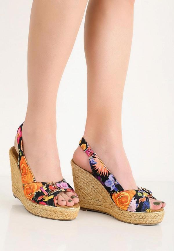Фото 5 - Босоножки Ideal Shoes разноцветного цвета