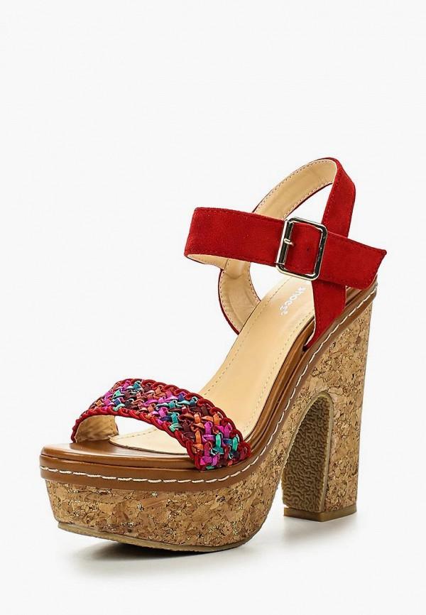 Купить Босоножки Ideal Shoes, id005awies02, разноцветный, Весна-лето 2016