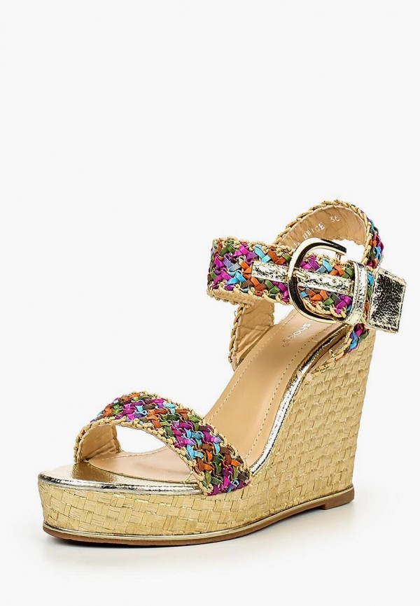 Купить Босоножки Ideal Shoes, id005awioy26, разноцветный, Весна-лето 2016