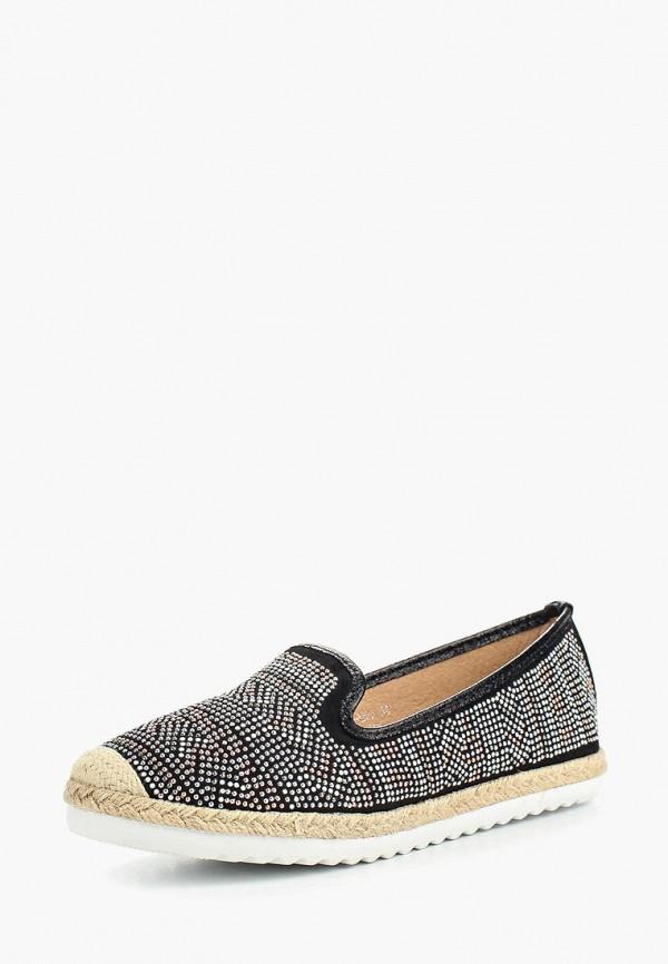 Купить Эспадрильи Ideal Shoes, id005awsbe64, черный, Весна-лето 2017