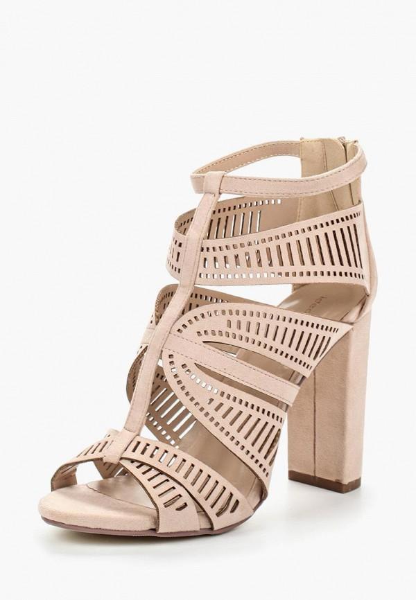 Фото - женские ботильоны Ideal Shoes бежевого цвета