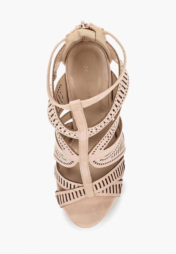 Фото 4 - женские ботильоны Ideal Shoes бежевого цвета