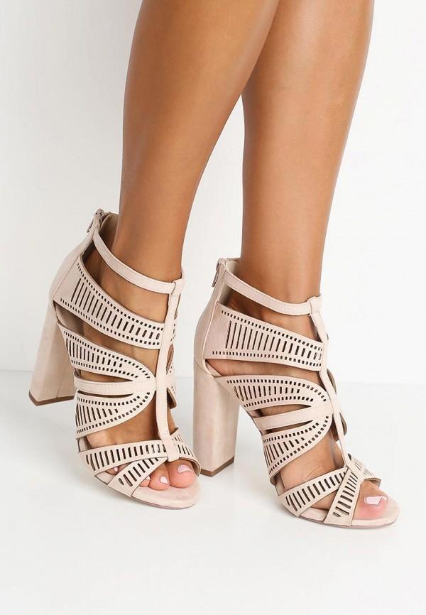 Фото 5 - женские ботильоны Ideal Shoes бежевого цвета