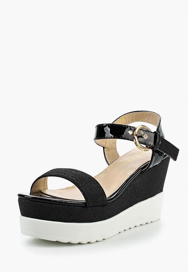 Босоножки Ideal Shoes, id005awtov28, черный, Весна-лето 2017  - купить со скидкой