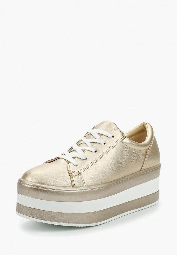 Купить Кеды Ideal Shoes, id007awanmx0, золотой, Весна-лето 2018
