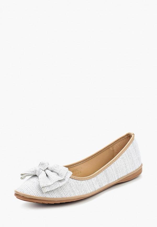 Купить Балетки Ideal Shoes, id007awanmy0, серебряный, Весна-лето 2018