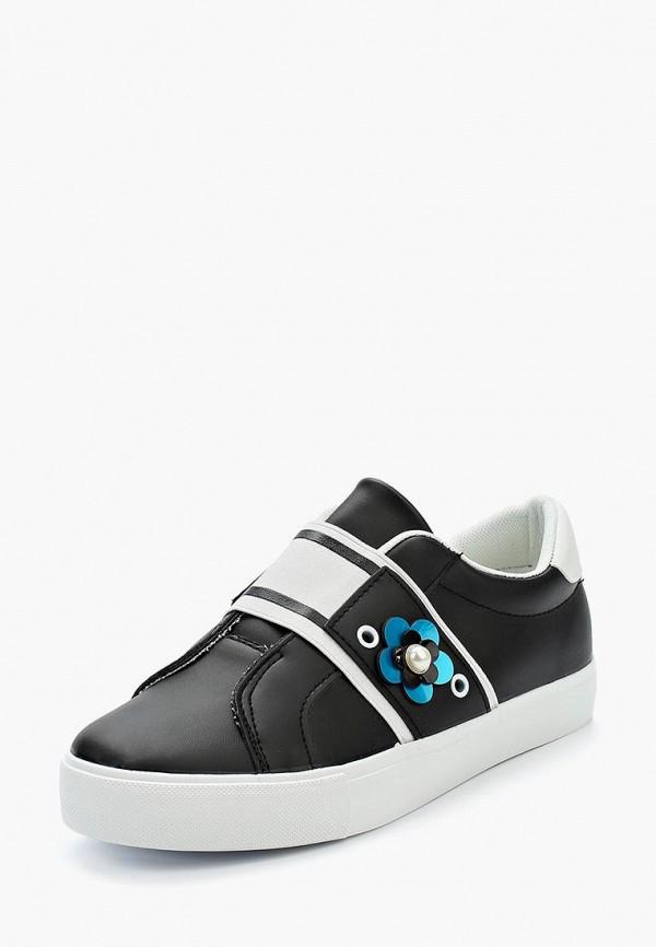 Купить Кеды Ideal Shoes, id007awanna2, черный, Весна-лето 2018