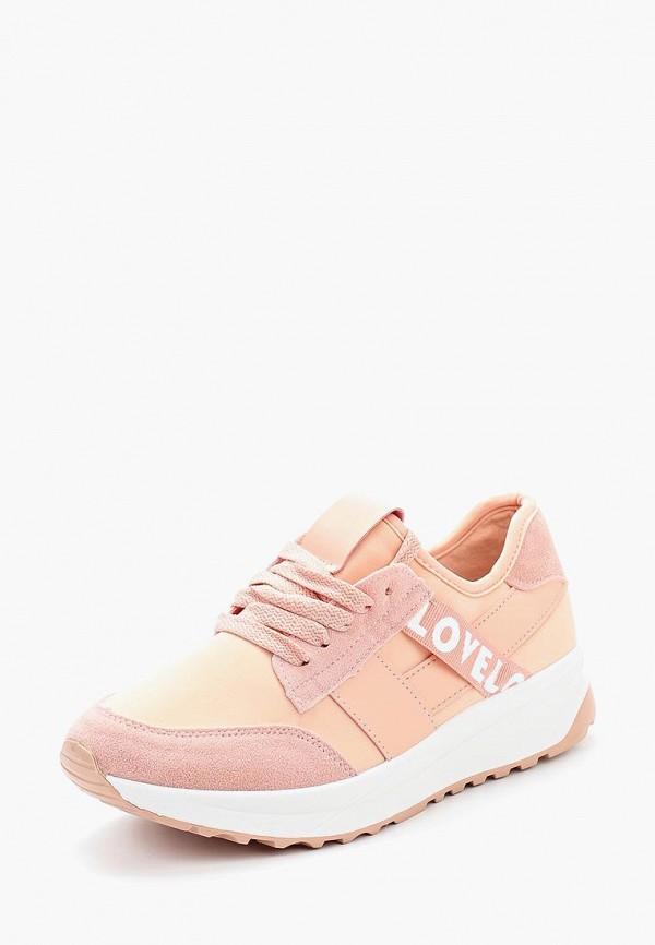 Купить Кроссовки Ideal Shoes, id007awannb2, розовый, Весна-лето 2018