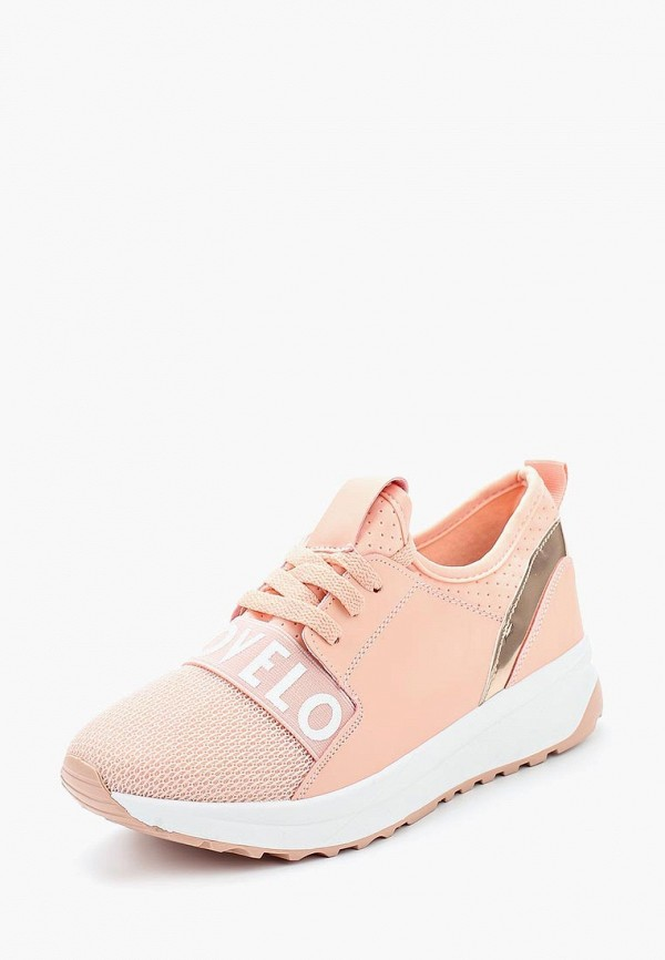 Купить Кроссовки Ideal Shoes, id007awannb5, розовый, Весна-лето 2019