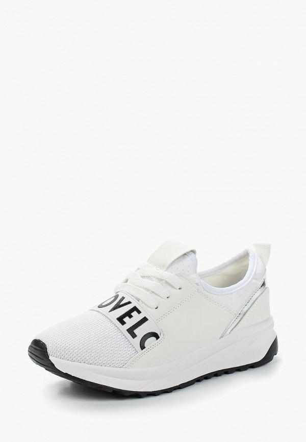 Купить Кроссовки Ideal Shoes, id007awannb6, белый, Весна-лето 2019