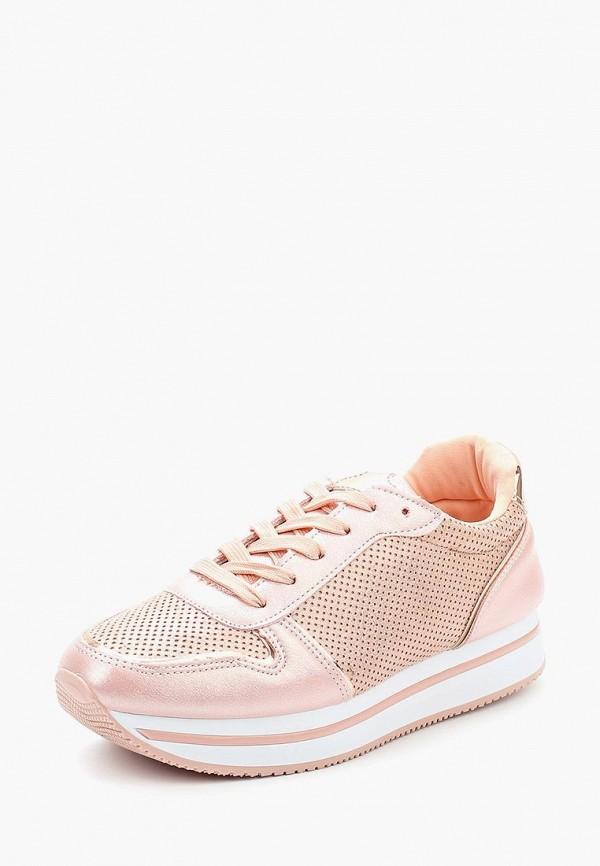 Купить Кроссовки Ideal Shoes, id007awannc3, розовый, Весна-лето 2018