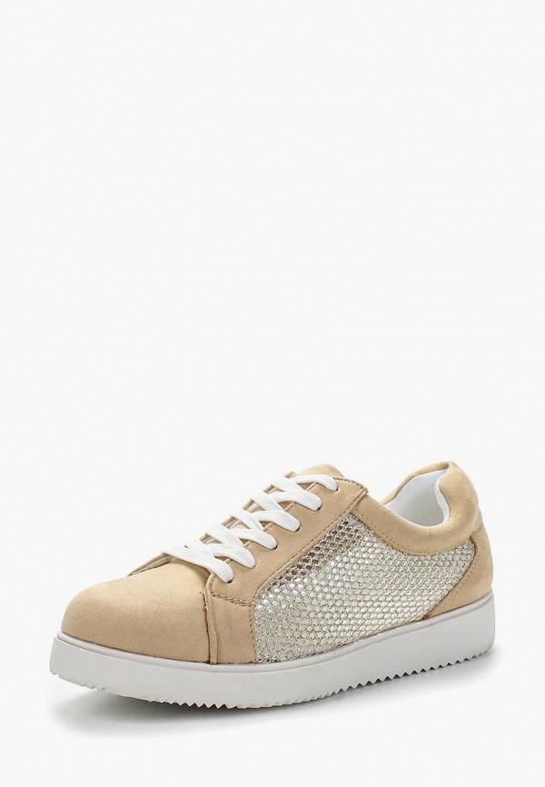 Купить Кеды Ideal Shoes, ID007AWBADJ0, бежевый, Весна-лето 2018