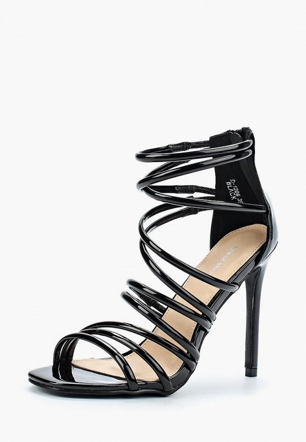 Купить Босоножки Ideal Shoes, id007awberi1, черный, Весна-лето 2018