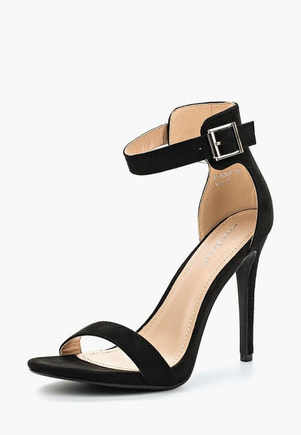 Купить Босоножки Ideal Shoes, id007awberj3, черный, Весна-лето 2018