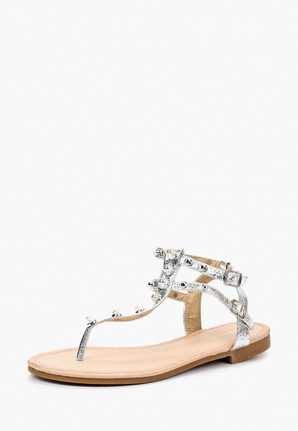 Купить Сандалии Ideal Shoes, ID007AWBOTH1, серебряный, Весна-лето 2018