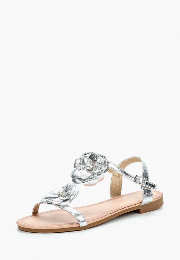 Купить Сандалии Ideal Shoes, ID007AWBOTH8, серебряный, Весна-лето 2018