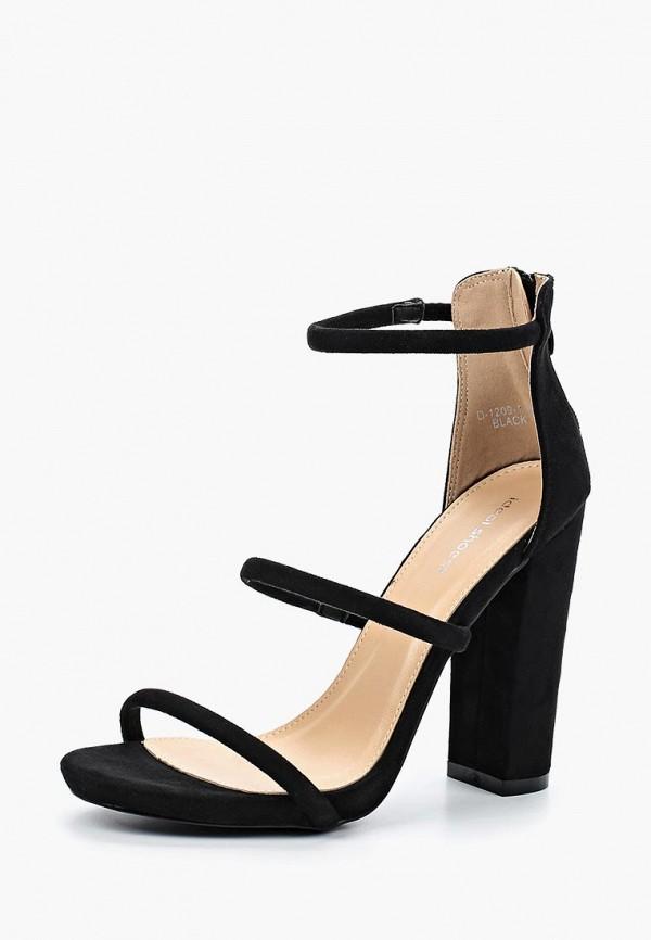 Купить Босоножки Ideal Shoes, id007awboti3, черный, Весна-лето 2018