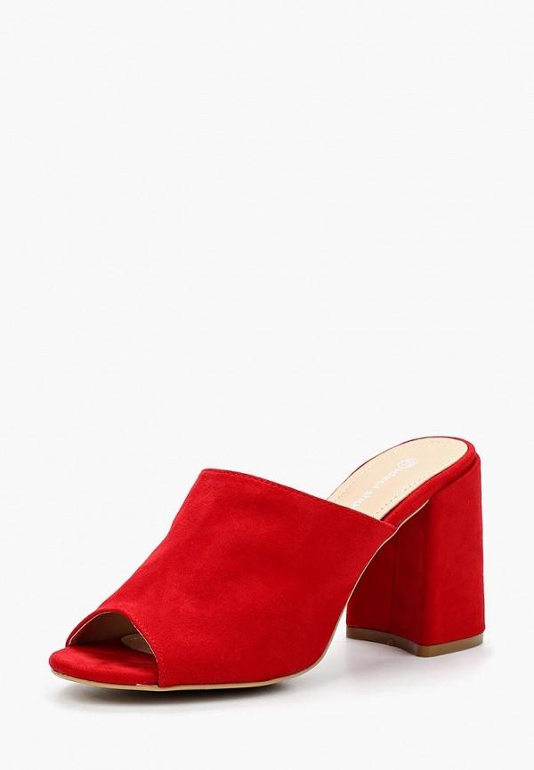 Купить Сабо Ideal Shoes, id007awbotj9, красный, Весна-лето 2018