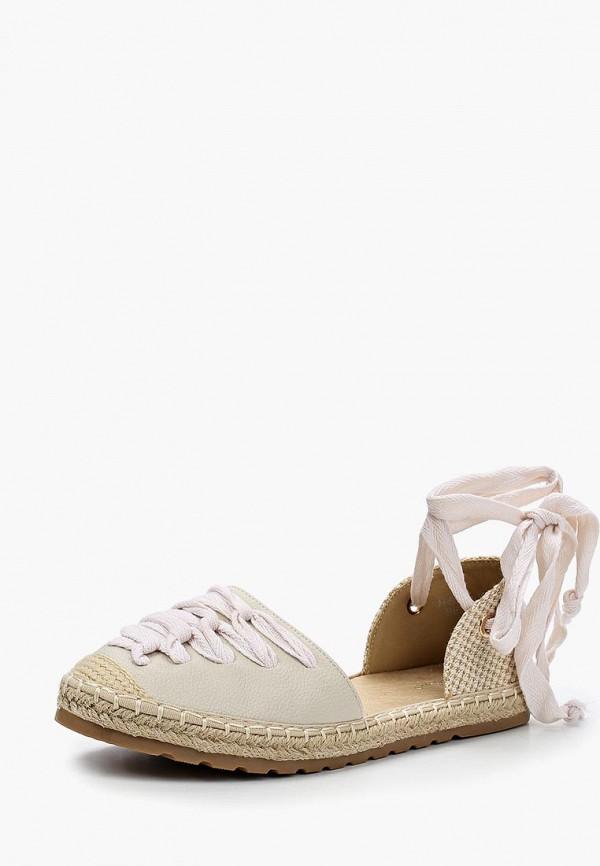 Купить Эспадрильи Ideal Shoes, ID007AWBOTK9, бежевый, Весна-лето 2018