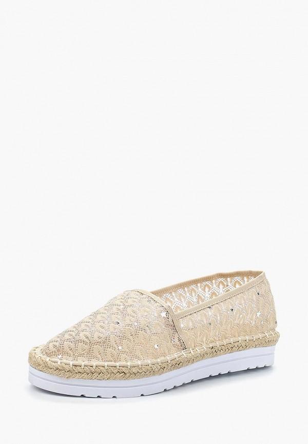 Купить Эспадрильи Ideal Shoes, ID007AWBOTM2, бежевый, Весна-лето 2018