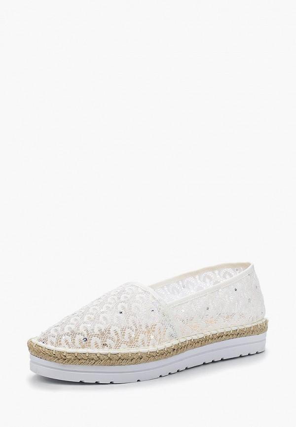 Купить Эспадрильи Ideal Shoes, ID007AWBOTM4, белый, Весна-лето 2018