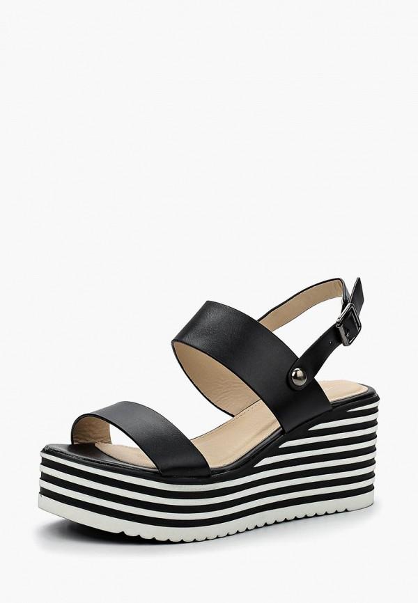Купить Босоножки Ideal Shoes, id007awbotm6, черный, Весна-лето 2018