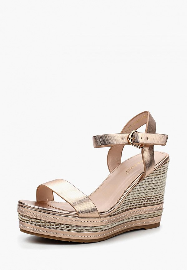 Купить Босоножки Ideal Shoes, id007awbotm8, золотой, Весна-лето 2018