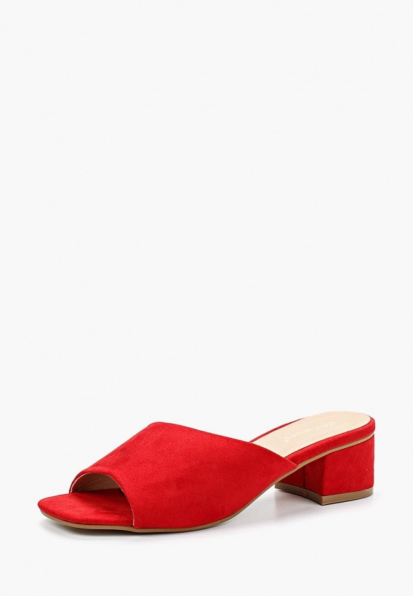 Купить Сабо Ideal Shoes, id007awbotq1, красный, Весна-лето 2018