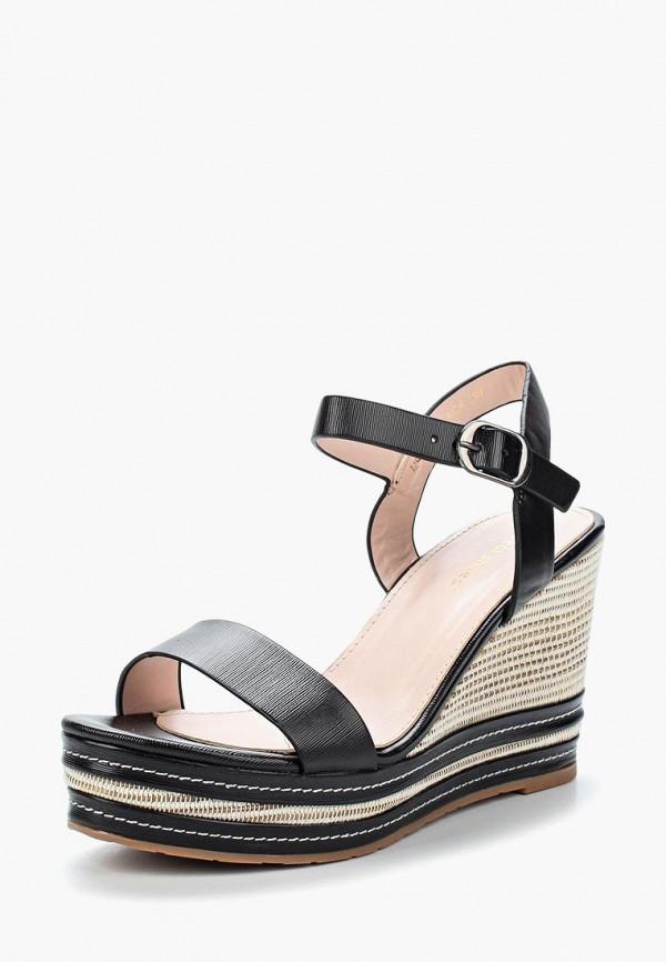 Купить Босоножки Ideal Shoes, ID007AWBQAA9, черный, Весна-лето 2018