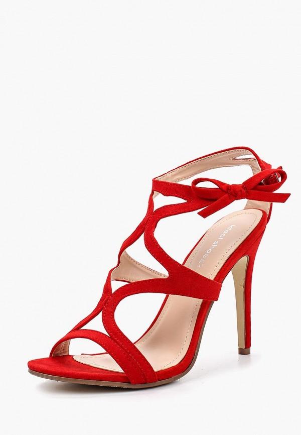 Купить Босоножки Ideal Shoes, ID007AWBQAB6, красный, Весна-лето 2018