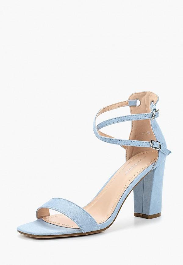 Купить Босоножки Ideal Shoes, ID007AWBQAC7, голубой, Весна-лето 2018