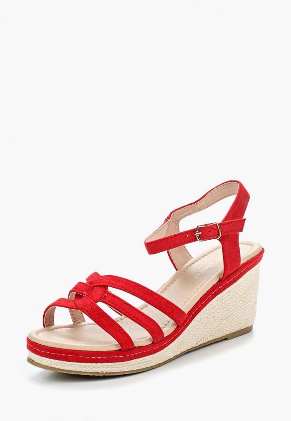 Купить Босоножки Ideal Shoes, id007awbqae7, красный, Весна-лето 2018
