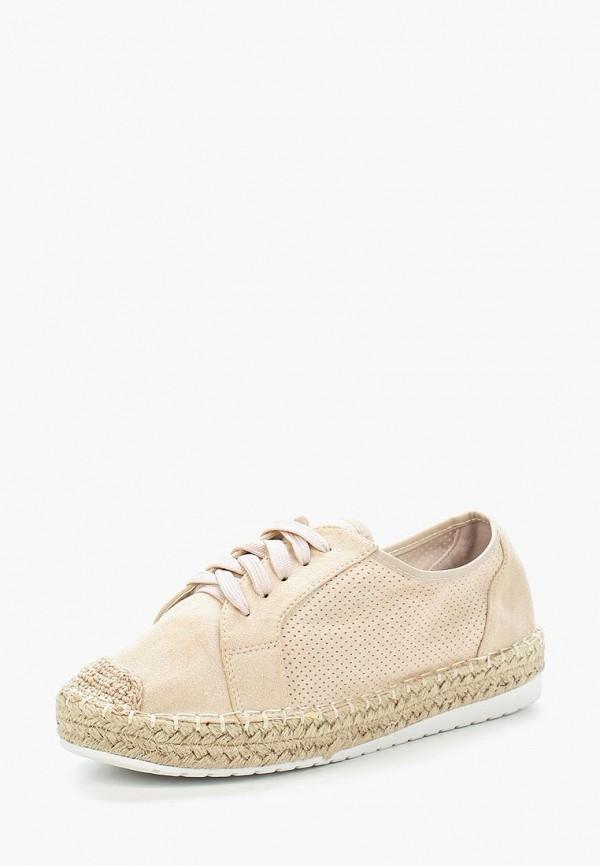 Купить Эспадрильи Ideal Shoes, id007awbqaf1, бежевый, Весна-лето 2018
