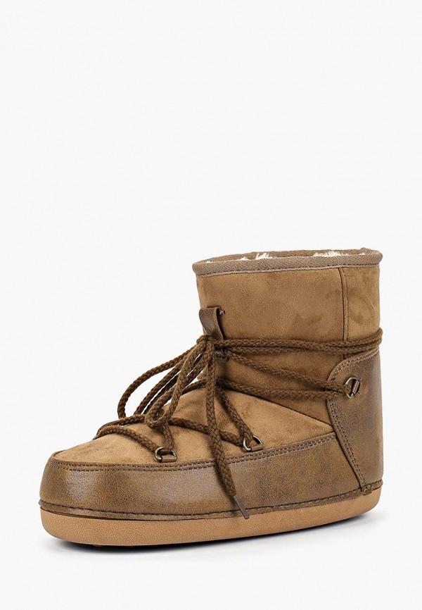 Купить Луноходы Ideal Shoes, ID007AWCBGR8, хаки, Осень-зима 2018/2019