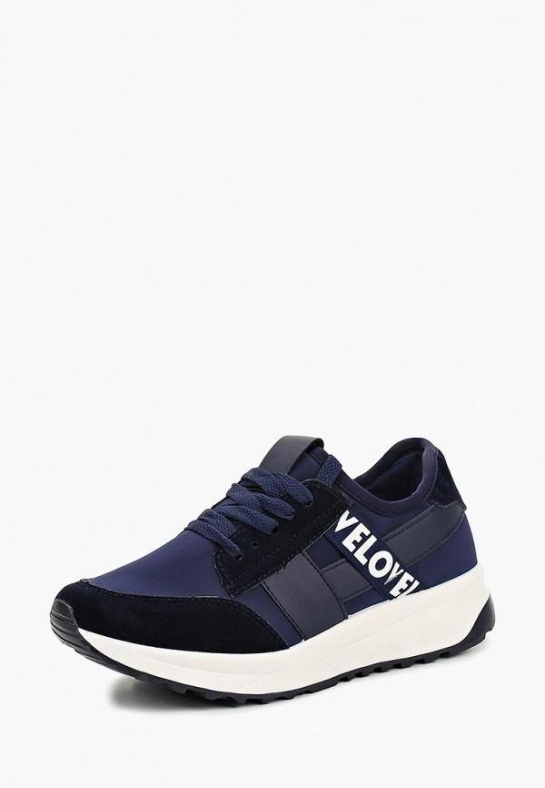 Купить Кроссовки Ideal Shoes, ID007AWCMKY9, синий, Осень-зима 2018/2019