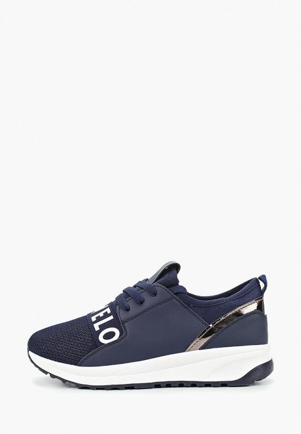 Купить Кроссовки Ideal Shoes синего цвета