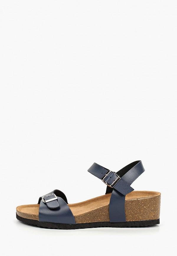 женские босоножки ideal shoes, синие