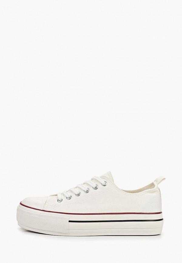 Фото - Кеды Ideal Shoes белого цвета