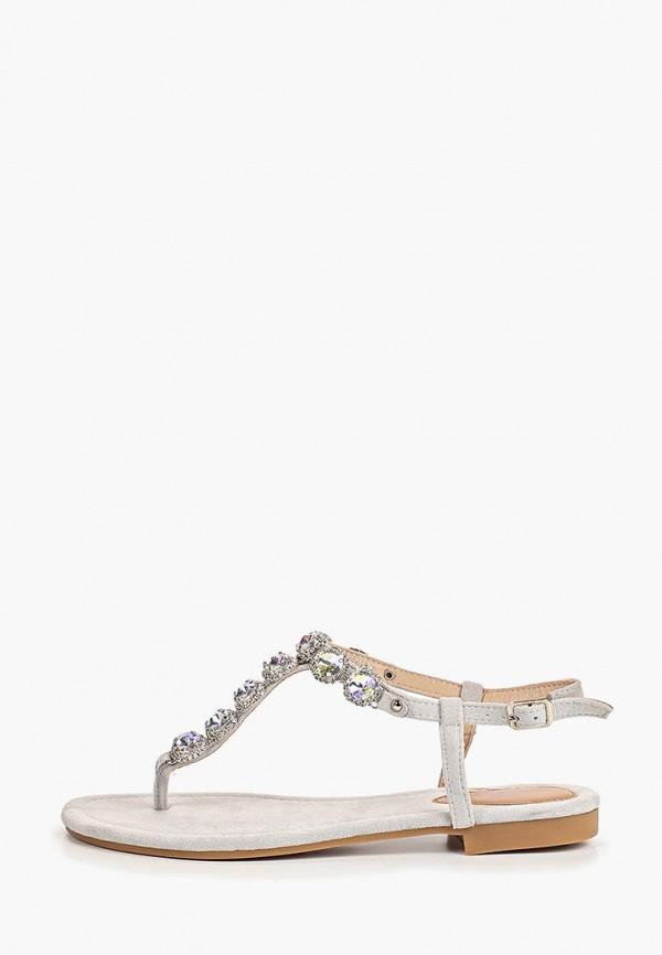женские сандалии ideal shoes, серые