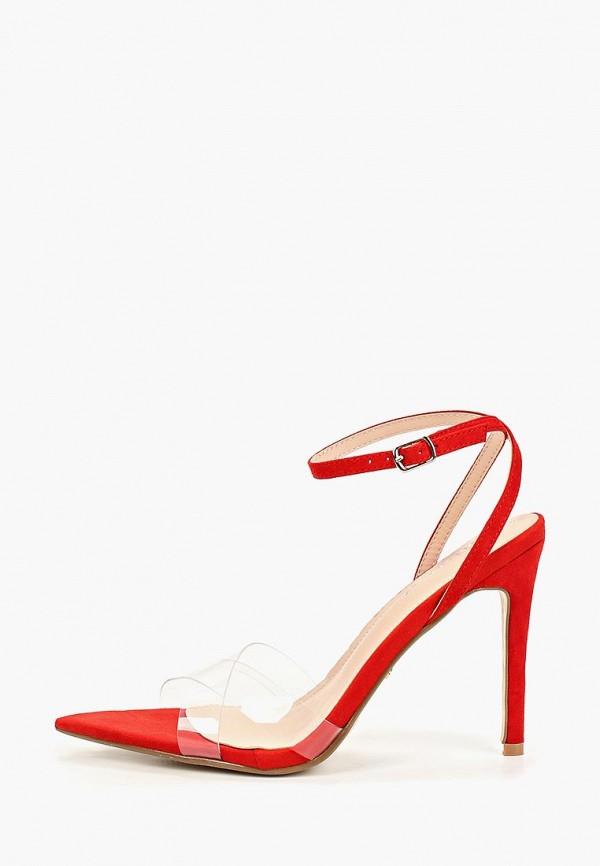 женские босоножки ideal shoes, красные