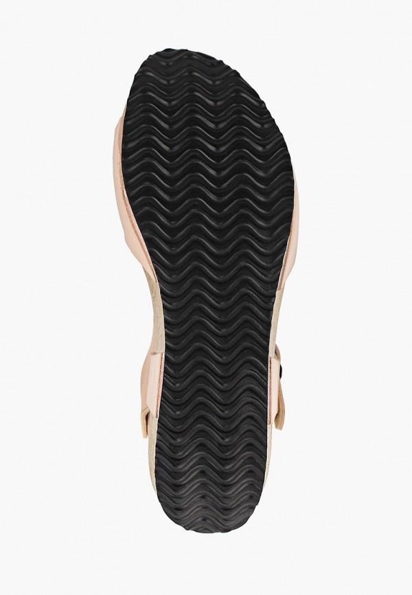 Фото 5 - женские босоножки Ideal Shoes золотого цвета