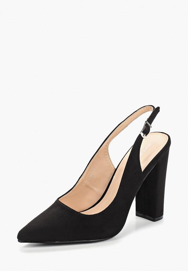 Фото 2 - женские туфли Ideal Shoes черного цвета