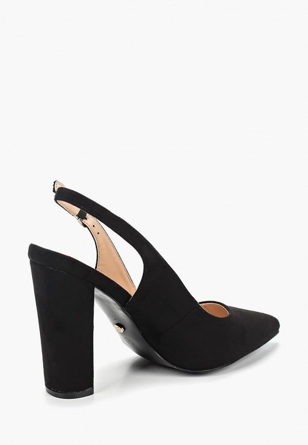 Фото 3 - женские туфли Ideal Shoes черного цвета