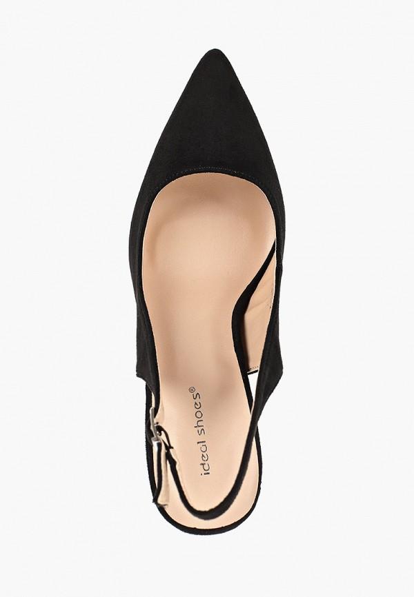 Фото 4 - женские туфли Ideal Shoes черного цвета