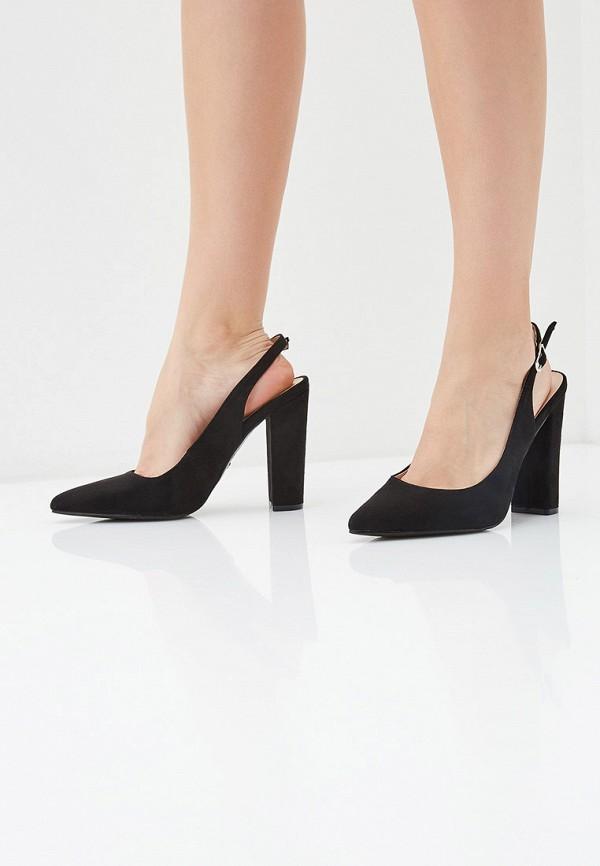Фото 6 - женские туфли Ideal Shoes черного цвета